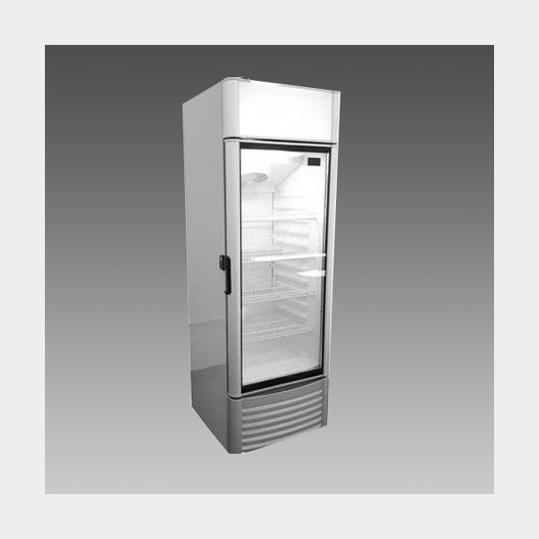 Oliver Commercial 9 Cubic Foot Glass Door Refrigerator Cooler Merchandiser XLS250EFC$599 to Buy