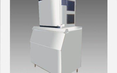 Oliver Commercial 1003LB Ice Machine Maker IM1005FA W/ Ice Bin$3,999 to Buy