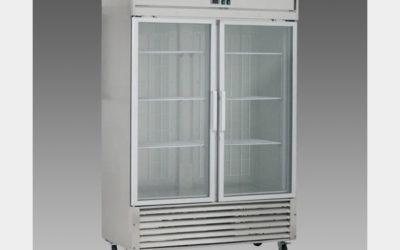Oliver Commercial Double Glass Pull Door Refrigerator Cooler Merchandiser DG48R$1,999 to Buy