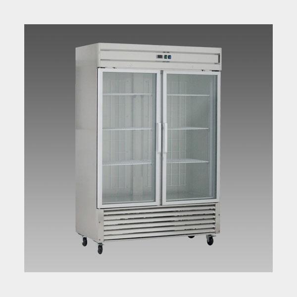 Oliver Commercial Double Glass Pull Door Refrigerator Cooler Merchandiser DG48R$1,899 to Buy