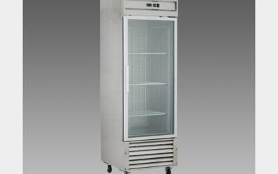 Oliver Commercial 23 Cubic Foot Glass Door Refrigerator Cooler Merchandiser DG23R$1,399 to Buy
