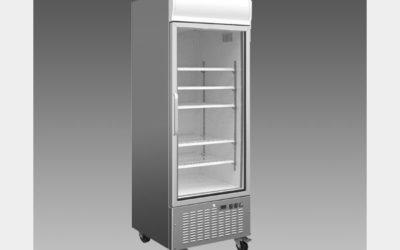Oliver Commercial 23 Cubic Foot Glass Door Refrigerator Cooler Merchandiser DG23R$1,099 to Buy