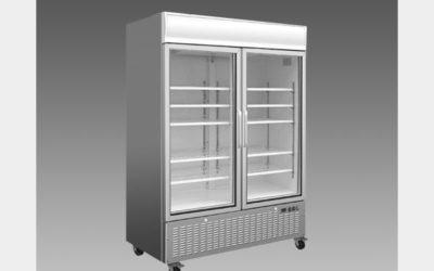 Oliver Commercial Double Slide Glass Door Refrigerator Cooler Merchandiser DG48L$1,599 to Buy
