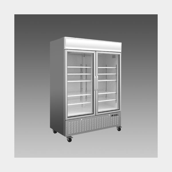 Oliver Commercial Double Slide Glass Door Refrigerator Cooler Merchandiser DG48L$1,599 to Buy
