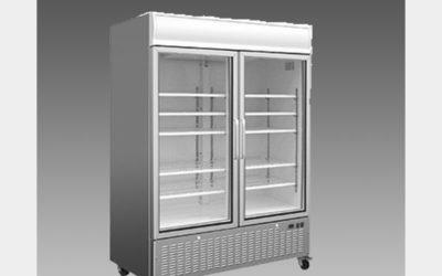 Oliver Commercial Double Glass Pull Door Refrigerator Cooler Merchandiser DG48R$1,599 to Buy