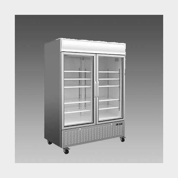 Oliver Commercial Double Glass Pull Door Refrigerator Cooler Merchandiser DG48R$1,599 to Buy