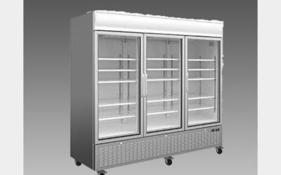 Oliver Commercial Triple Glass Door Refrigerator Cooler Merchandiser DG72R$2,299 to Buy