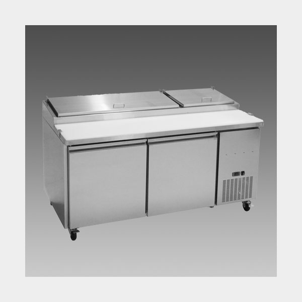 Oliver 71″ Commercial  Pizza Prep Refrigerator Cooler Table MPP67$1,799 to Buy