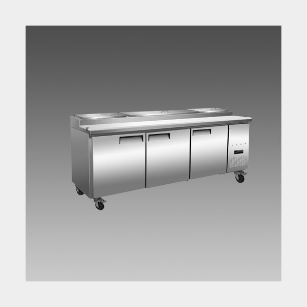 Oliver 93″ Commercial Pizza Prep Refrigerator Cooler Table MPP93$2,599 to Buy