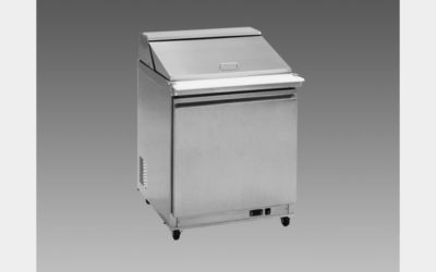 Oliver 28″ Commercial Salad Mega Top Refrigerator Prep Table Cooler MSSU29K$899 to Buy