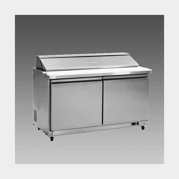 Oliver 61″ Commercial Salad Mega Top Refrigerator Prep Table Cooler MSSU60$1,299 to Buy