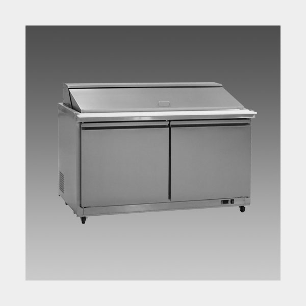Oliver 61″ Commercial Salad Mega Top Refrigerator Prep Table Cooler MSSU60K$1,399 to Buy